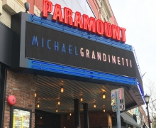 Michael Grandinetti Tour - Paramount Theater Marquee