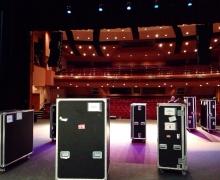 Michael Grandinetti Tour - Theater Load-In