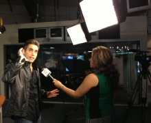 Michael on Univision's National News