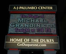 The Magic of Michael Grandinetti at Pittsburgh's AJ Palumbo Center