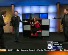 Michael Grandinetti Performs Live on the KTLA Morning Show