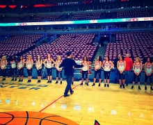 Michael Grandinetti and the Luvabulls Dancers