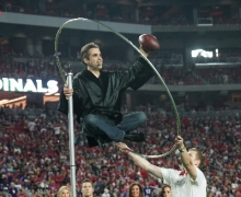 Michael Levitates 10ft Into The Air Surrounded By 65,000 People
