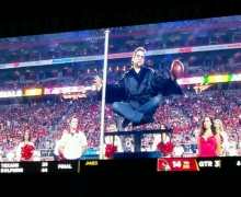 Michael On The Big Screen At University Of Phoenix Stadium