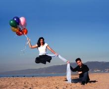 Michael Grandinetti Santa Monica Beach Levitation