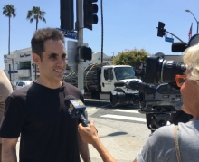 Michael Grandinetti CBS Los Angeles Interview