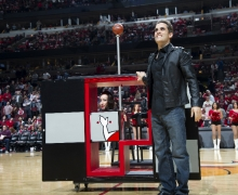 Michael Grandinetti NBA Playoff Halftime at United Center