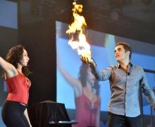 Michael Grandinetti Creates Fire Magic At Walt Disney World Orlando