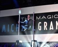 Michael Grandinetti Floats In Mid-Air At Walt Disney World Orlando