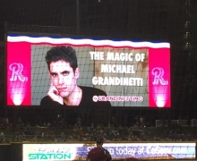 Michael Grandinetti Frisco RoughRiders Magic Night Billboard