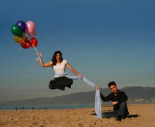 Michael Grandinetti Santa Monica Beach Levitation