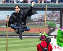 Michael Grandinetti Citizens Bank Park Levitation
