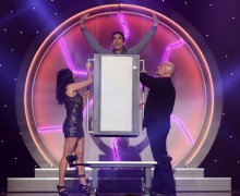 Michael Grandinetti's Body Eraser on The CW's Masters of Illusion