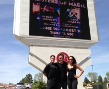 Masters of Magic Marquee