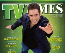 Michael Grandinetti TV Times Magazine National Cover