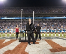 Michael Grandinetti NFL Halftime at Bank of America Stadium 1