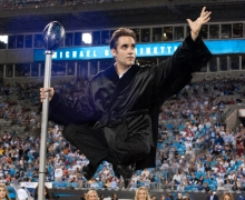Michael Grandinetti NFL Halftime at Bank of America Stadium 3