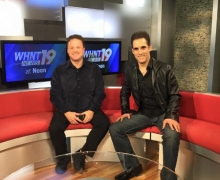 Michael Visits WHNT News 19 In Huntsville, Alabama