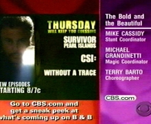 Michael Grandinetti and The Bold and the Beautiful on CBS