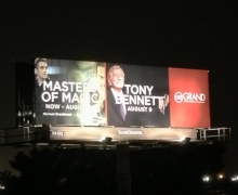Michael Grandinetti and Tony Bennett Billboard